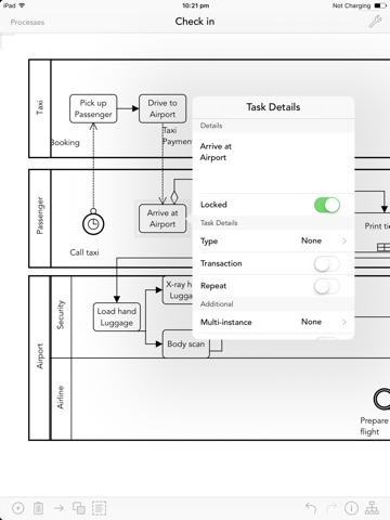 Mobile Process Designer - náhled