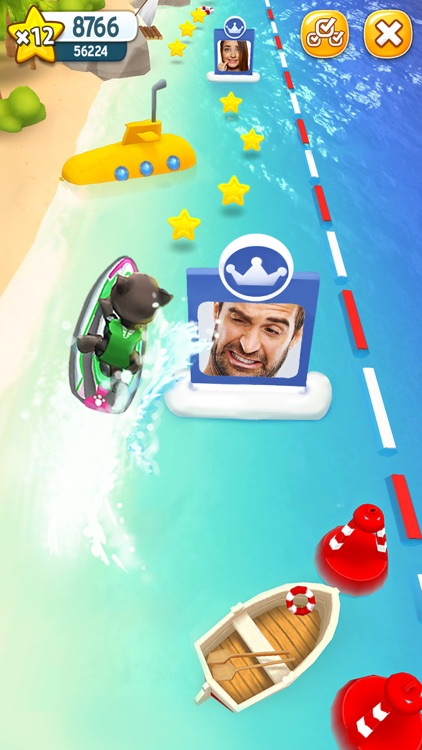Talking Tom Jetski screenshot-3