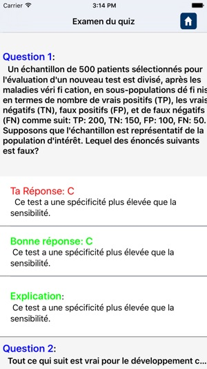 Cardiology Questions in French on the App Store