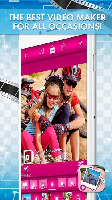 点击获取Picture SlideShow with Music – Video Clip Maker