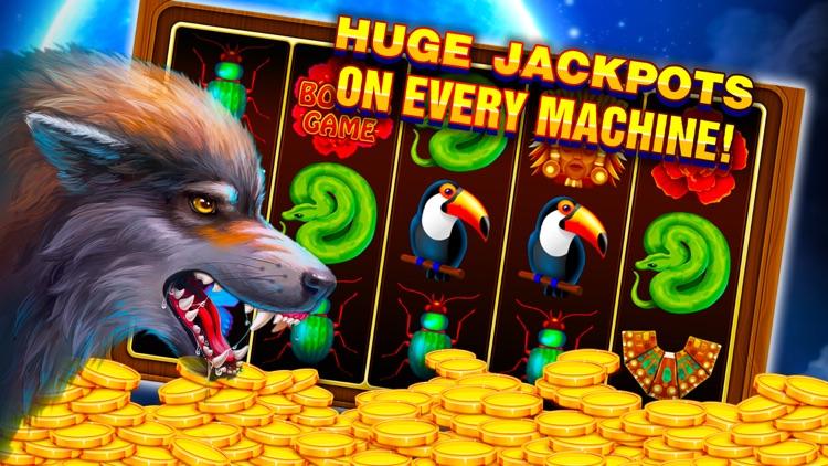 Wolf Rush - Slot Machines screenshot-4