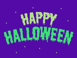 Customise your messages with Halloween Stickers