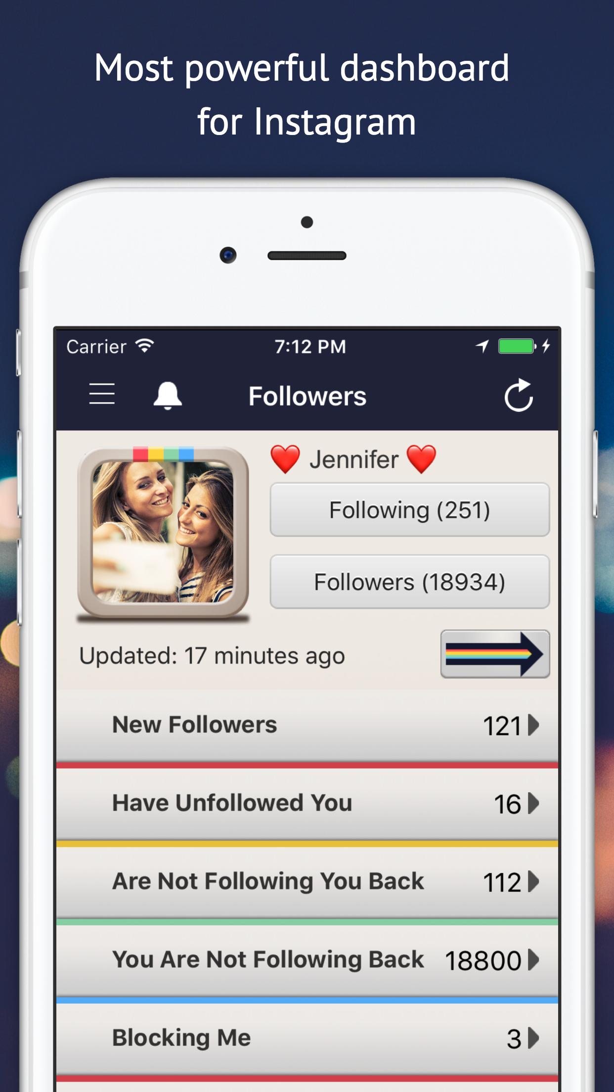 Followers Track for Instagram! Screenshot