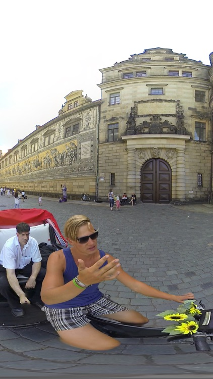 VR Cycle Rickshaw German City Virtual Reality 360