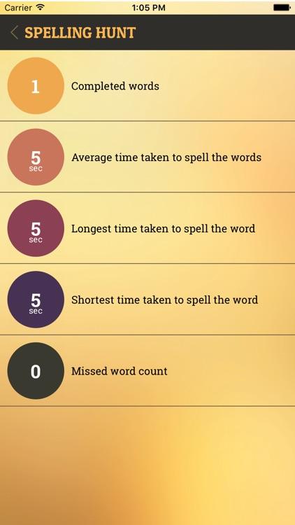 Spelling Hunt screenshot-3