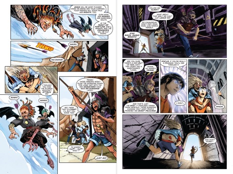 heroes of olympus the book two son of neptune the the graphic