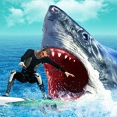 Hungry Predator Evolution: Shark Attack Simulation