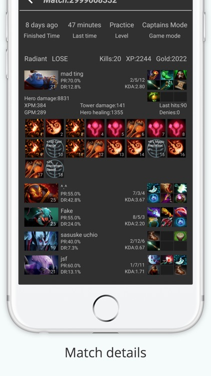 Dota 2 Tracker by Battlecry