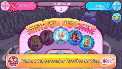 Screenshot for Winx Club: Winx Fairy School in Ecuador App Store