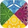 颜料 曼荼罗 万花筒 重力开关 简单的单机游戏 : Rgb颜色 调色板 謎 显示器 好玩的活动游戏
