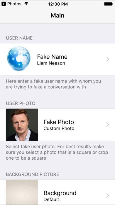 Fake A Text FREE for Whatsapp - Prank Text Message Screenshot 4