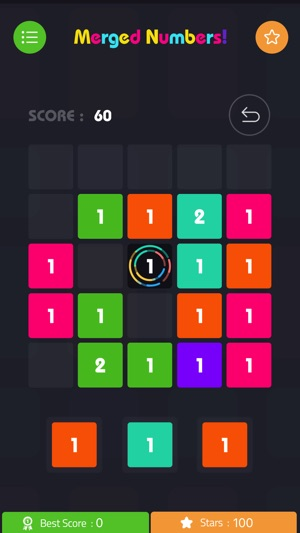 Merged Numbers! - Blocks puzzle Screenshot