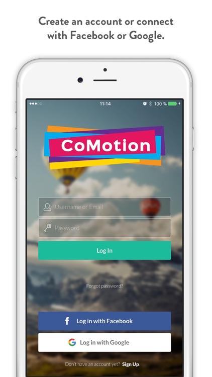 CoMotion – Social Trip Planner screenshot-0