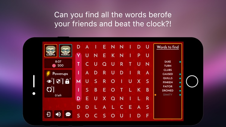 Word Search Puzzles - Multiplayer Board Game screenshot-3