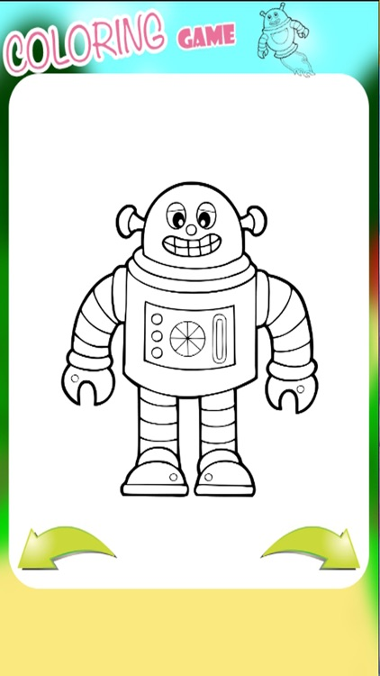 Iron Robot Coloring Book for Kids and Family by Warunee Kongtoom