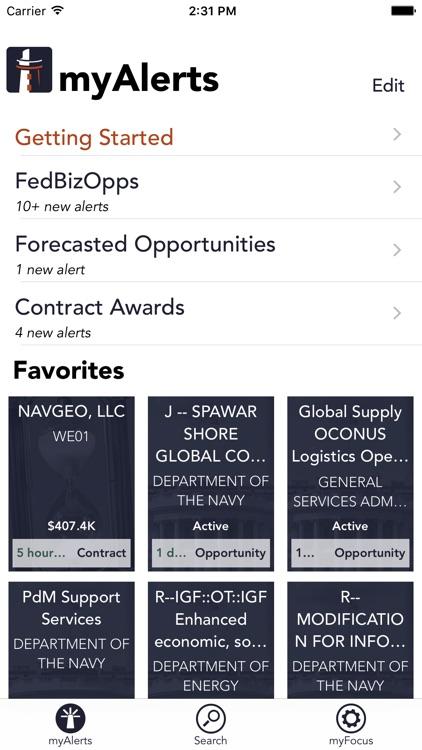 myFedBeacon for FBO.gov