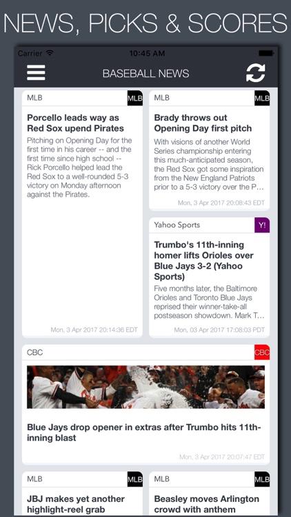 Live Baseball News, Scores & Predictions