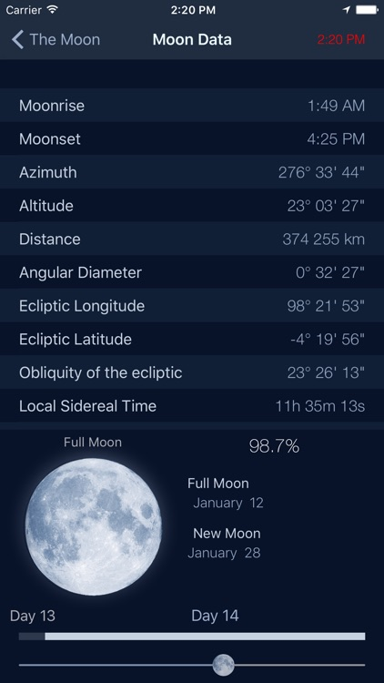The Moon - Calendar phase of Moon free screenshot-3