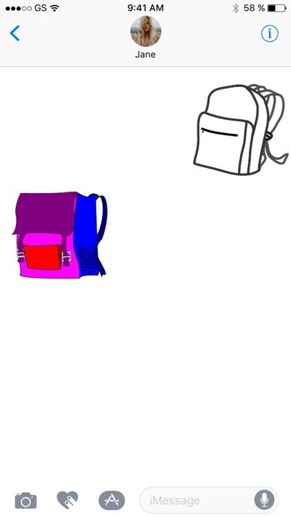 Backpacks Sticker Pack