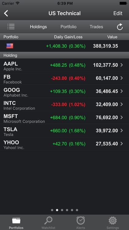 Portfolio Trader-Stock Tracker screenshot-3