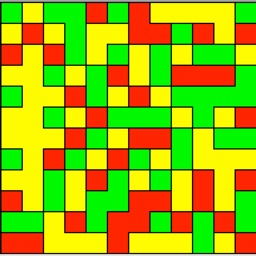 Board games - Flood Colors ∏ puzzle