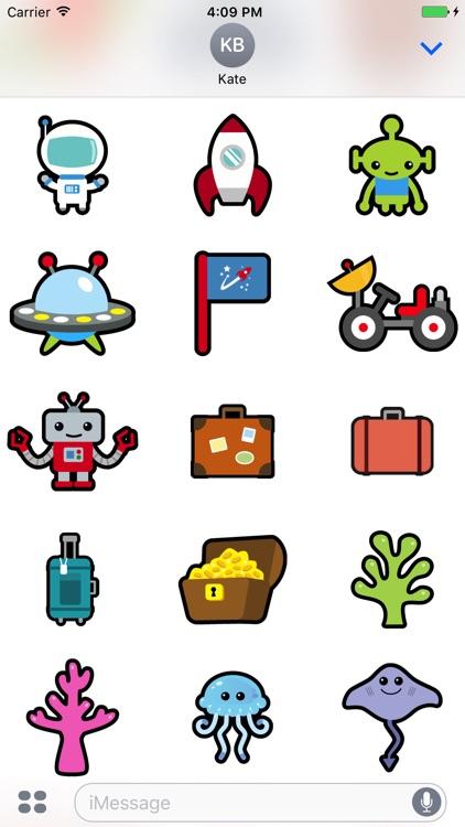 Huge Animal Exploration Sticker Pack for Messaging