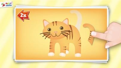 Animiertes Tier Puzzle für Kinder von HAPPYTOUCH®Screenshot von 1