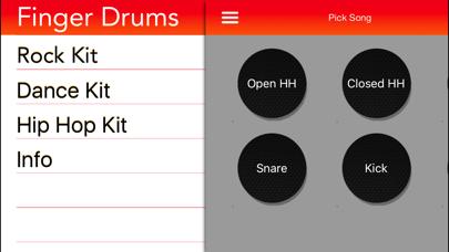Screenshot of Finger Drums4