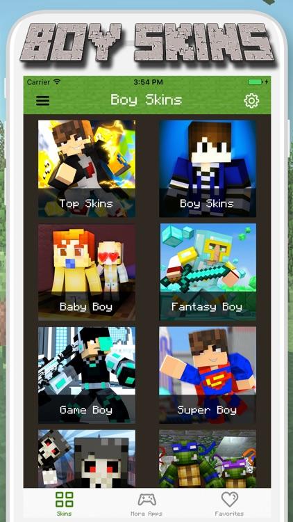 Boy Skins for Minecraft PE - MCPE Skins Free