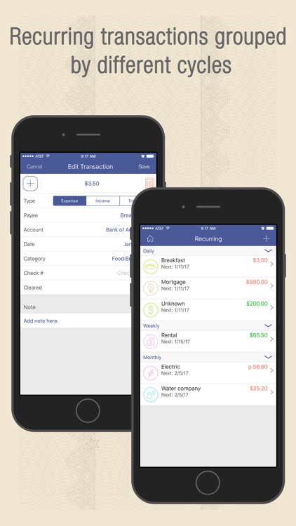 Checkbook Wiz Pro- Track Expense, Income & Account