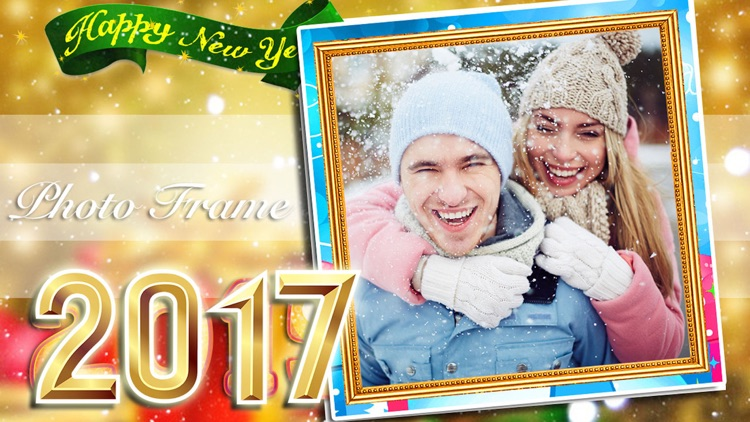 New Year Photo Frame Collection 2017