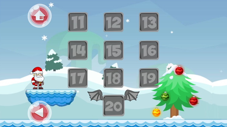 Christmas Santa Adventure Run screenshot-3