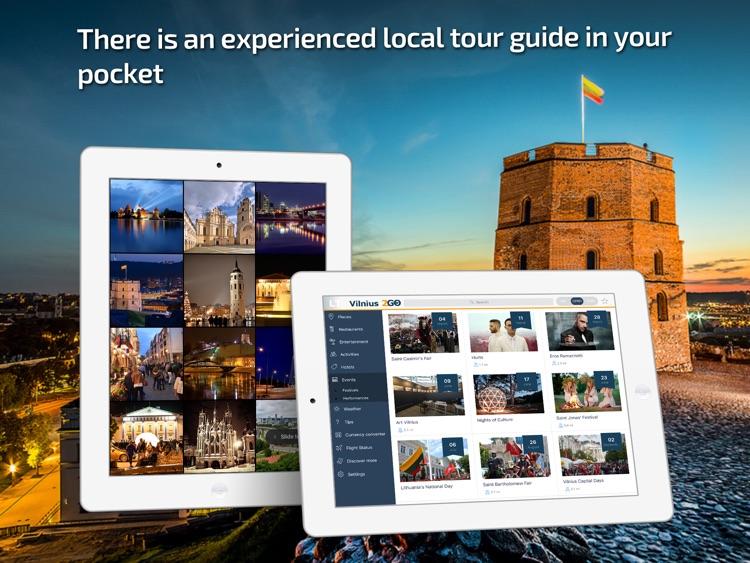 Vilnius Travel Guide & offline city map