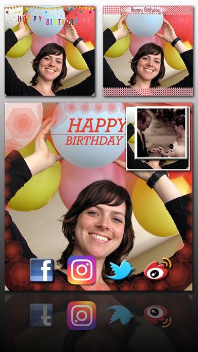 Birthday Frame Greetingsのおすすめ画像4