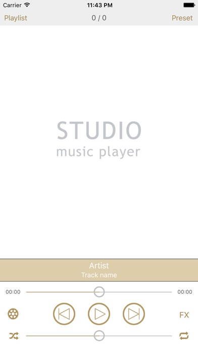 Screenshot #8 for Studio Music Player | 48 bands equalizer for pro's