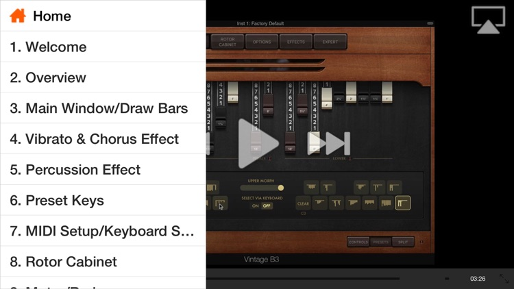 FastTrack™ For Logic Vintage B3 Organ screenshot-1