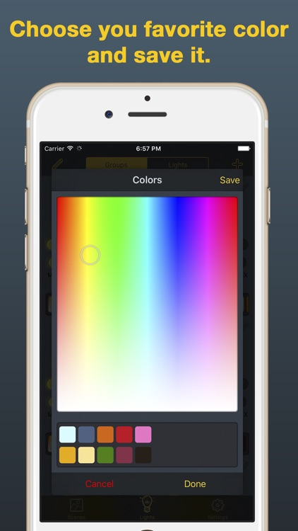 iHue for Philips Hue - easy control of light screenshot-3