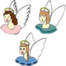 More Angels Two Sticker Pack