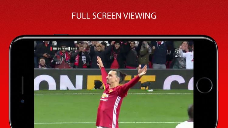 MUTV - Manchester United TV app image