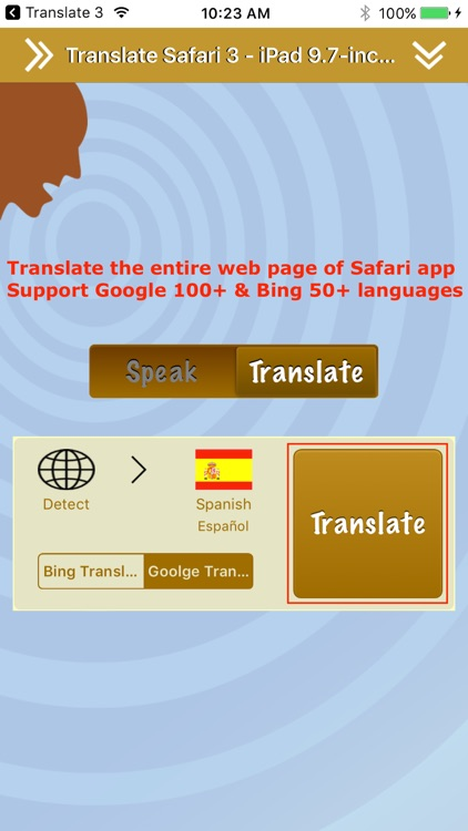 Translate 3 for Safari