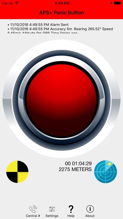 APS+ Panic Button screenshot-4