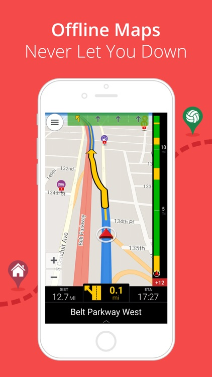 CoPilot USA - GPS Navigation & Offline Maps