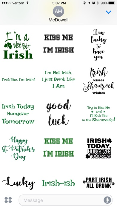 St Patty Text By Catchy App Profile Reviews Videos And More