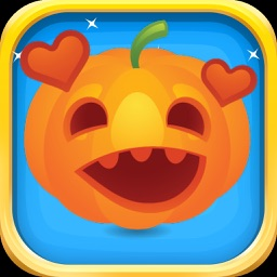 Pumpkin Stickers - Various Pumpkin Emojis