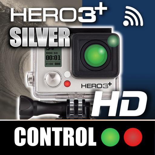 Remote Control for GoPro Hero 3+ Silver