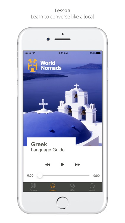 Greek Language Guide & Audio - World Nomads