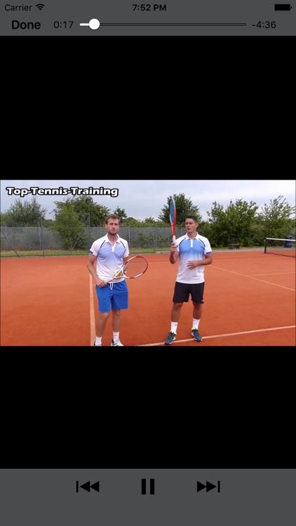 Tennis Training and Coaching PRO screenshot-3