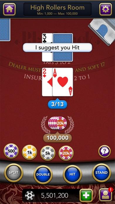 Blackjack – Casino Card Game screenshot