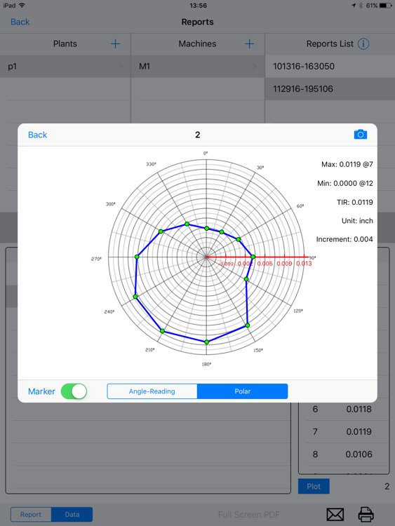 Rotor Runout TIR Test with Wireless Dial Indicator screenshot-3