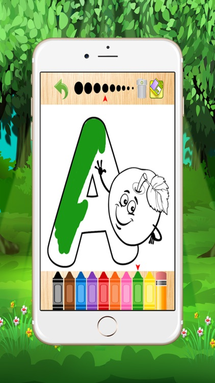 abc coloring pages for kid screenshot-3